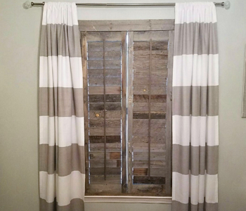 Reclaimed Wood Shutters Product In Sacramento