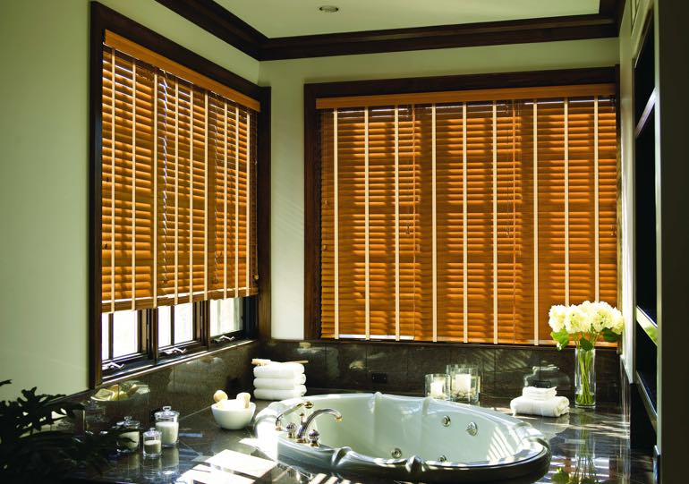 Sacramento bathroom blinds
