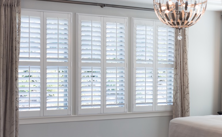 Plantation Shutters Look Beautiful In Sacramento Bedrooms