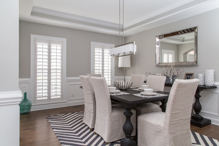 Sacramento dining room design