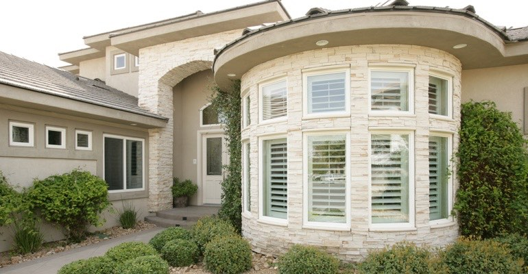 Sacramento bay window shutter exterior