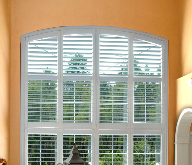 Arched Window Shutters In Sacramento, CA
