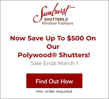 Sale on Sacramento Polywood Shutters