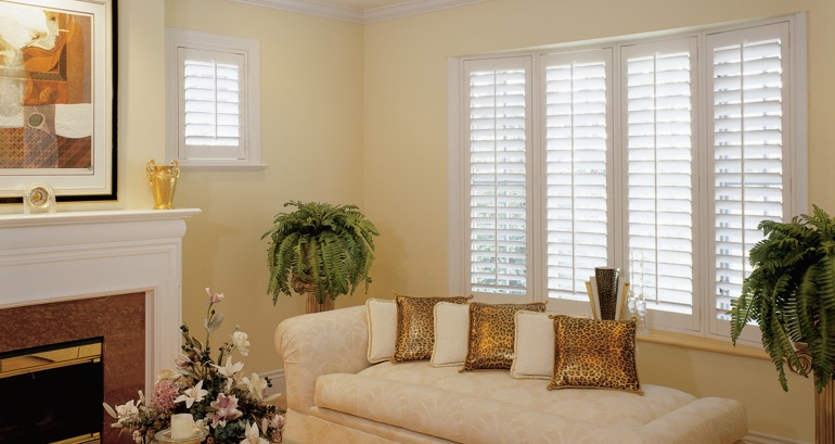 Sacramento living room shutters