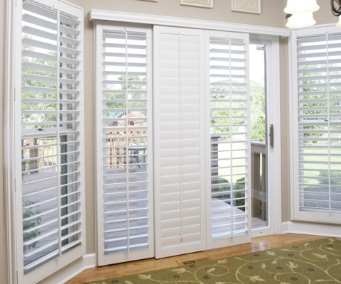 CA sliding door shutters