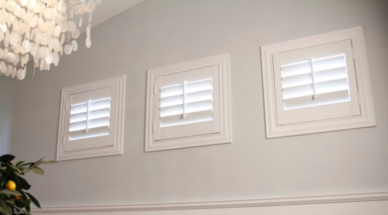 Sacramento small window shutters