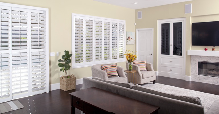 Cleaning Polywood plantation shutters in Sacramento is easy
