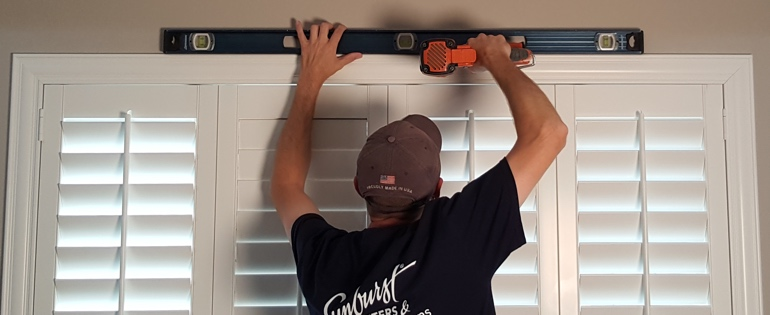 Sacramento shutter installation window measure