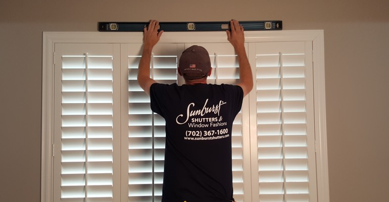 Sacramento window shutter measurement