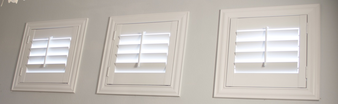 Sacramento casement window shutter.